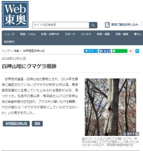 WEB東奥