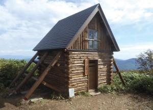 避難小屋完成